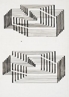Two studies for Graphic Tectonic (Interim I), c1941-42.