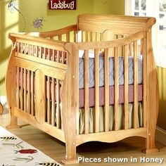 Kathryn crib from Cribs 4 Life - will be going with this style in the espresso finish