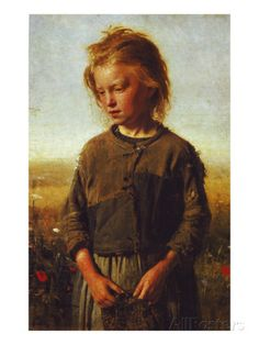 Fisher Girl, 1874 Impression giclée
