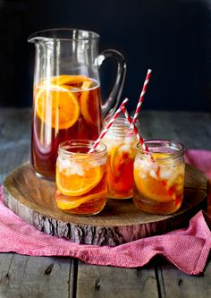 Ginger sun tea