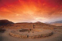 Sacred City of Caral-Supe, Peru. Inscription in 2009. Criteria: (ii)(iii)(iv)