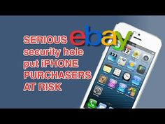 eBay XSS vulnerability used iPhones as bait, redirected users to phishing page - YouTube