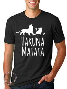 Disney Shirts // Lion King // Hakuna // by LittleButFierceCo