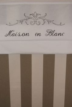 Wohntextilien - Raffrollo Shabby MAISON EN BLANC ab 49,00 € - ein Designerstück von BeauCoussin bei DaWanda