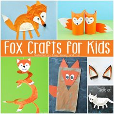 Cute Fox Crafts for Kids - Easy Peasy and Fun
