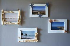 Des cadres pour ma décoration bord de mer ...