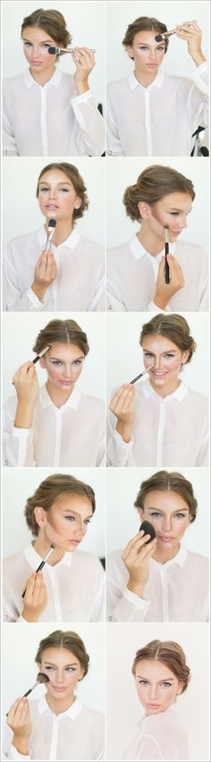 How to Contour and Highlight   Beauty Ideas