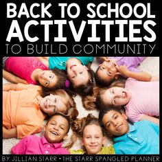 Building community in your classroom is critical to a great year! Students who feel safe, valued and a sense of belonging are infinitely more willing to take social and academic risks in your classroom. So how do you build that sense of community? Well, I have gathered up 10 of my favorite activities to share with you today.