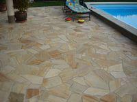 PorphyrPolygonalplatten Garten Pinterest Gartenweg Gärten - Gehwegplatten online bestellen