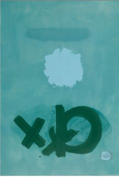 Adolph Gottlieb INTERPLAY 1963 oil on canvas 60 1/4 by 47 3/4 in