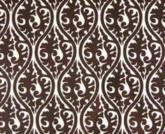 Adorn, Chocolate - $10.95/yd - Living Room Curtains?