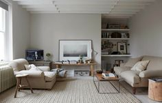 Living room: modern country