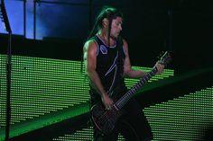 Metallica Bassist Robert Trujillo Heavy Montreal August 9, 2014