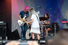 Lollapalooza 2014: Warpaint by UAJamie1, via Flickr