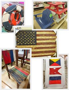 What colors summer more than red, white and blue? The iconic color trio are decorating many a porch, patio and pathway as the Fourth of July marches patriotically forward.