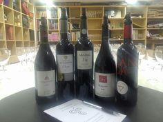 Cata de vinos tintos monovarietales II (25/01/2014)