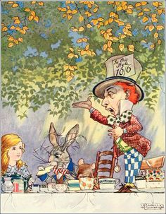 Charles Folkard,Songs from Alice's Adventures in Wonderland and Through the looking-glass.