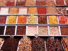 Barcelona Mercat Boquería - Frutos secos