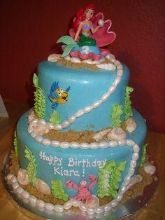 little mermaid cakes | Little Mermaid Cake