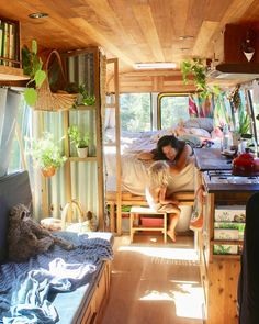 VAN LIFE Guide At first glance, seems to be perfect. However, you shouldn't underestimate it. In this guide we cover EVERYTHING you need to know about VAN LIFE Tiny House, Bus House, House Stairs, House Wall, House Floor, Bus Life, Camper Life, Rv Campers, Teardrop Campers