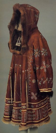 Woman's coat/dress for a festive occasion of the Koryak people of Kamchatka, Russia
