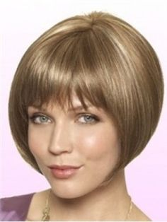New Arrival Custom Erin Blond Soft Natural Bob Wig  Original Price: $173.00 Latest Price: $58.39