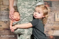Baltimore newborn portraits by Leah Rhianne Photography #military #army #babyinapocket