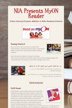 NIA Presents MyON Reader