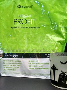 Another way I start my busy days is with Profit!! It is so good!  Momdraper.itworks.com is where you can get yours!