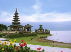 Bali temples and meditation spaces