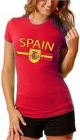 BEWILD: Spain Vintage Shield International Girls T-Shirt Buy Now $14.99 Find at Faearch
