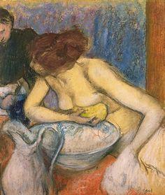 The Toilet, 1897 (pastel) - Edgar Degas Edgar Degas, eigentlich Hilaire Germain Edgar de Gas (1834-1917),