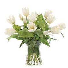 faux tulips ndi