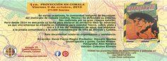 """Ya es jueves y en QuisQueya eco-arte-café abrimos a las 9 de la noche. Y mañana viernes 9 de octubre, 2015 recuerden que están convidados a la 1ra. proyección de """"Zacualpan: nuestra vida, nuestra gente"""".  http://quisqueya.com.mx/zacualpan.php"""