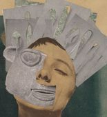 Exquisite Corpses at the Moma Hannah Höch. Indian Dancer:  From an Ethnographic Museum. 1930