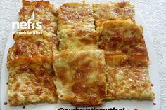 Börek Tadında Omlet #börektadındaomlet #kahvaltılıktarifler #nefisyemektarifleri #yemektarifleri #tarifsunum #lezzetlitarifler #lezzet #sunum #sunumönemlidir #tarif #yemek #food #yummy Omlet, Lasagna, Quiche, French Toast, Food And Drink, Pizza, Cheese, Cooking, Breakfast