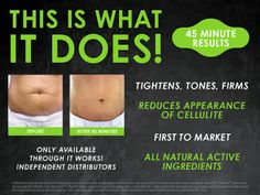 This is what the skinny wrap does!