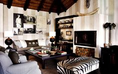 Londolozi in the Sabi Sands - our favourite room.