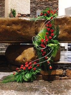 Contemporary Flower Arrangements, Tropical Floral Arrangements, Large Flower Arrangements, Funeral Arrangements, Easter Flowers, Church Flowers, Christmas Swags, Pink Tulips, Flower Decorations