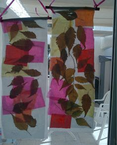 visual art instructor: Foliage Collage and Color Tissue Paper, Henri Matisse