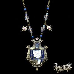 Reign of Magic- Navy Necklace