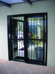 Patio Doors Sliding Patio Door Security Gate Fascinating Pictures for dimensions 800 X 1067 Sliding Glass Door Security Gates - When something has broken u Best Sliding Glass Doors, Exterior Doors With Glass, Sliding Door Design, Sliding Patio Doors, Sliding Gate, Burglar Bars, Security Gates, Safety Gates, House Security