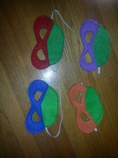 4+TMNT+masks+Ninja+Turtle+masks+TMNT+costume+by+CraftedCreationsKS,+$18.00