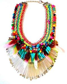 The Assad Mounser 'Neo Conquistador' Collection is Summer Fresh #necklace #jewelry trendhunter.com