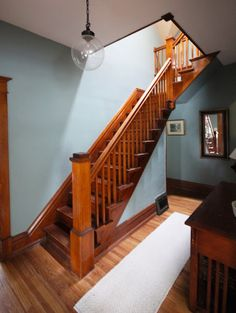 dulcious: Stratton Blue in the Front Hall