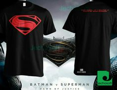 Kaos buat nonton bareng batman v superman