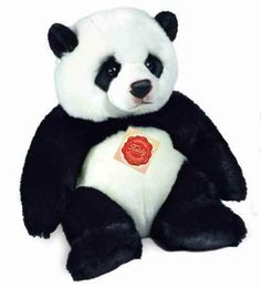 Hermann Original 92425 Panda Sitting