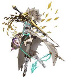 Female Character Design, Cute Anime Character, Character Design Inspiration, Character Concept, Character Art, Concept Art, Anime Weapons, Gundam Art, Dark Fantasy Art