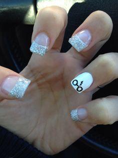 Harry potter nails. Glitter nails, glitter harry potter nails