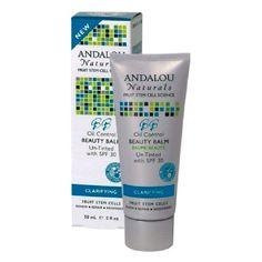 Andalou Oil Control Beauty Balm Un-Tinted SPF 30 This ultimate 3 in 1 beauty balm blends Fruit Stem Cell Complex, mattifying hydration, and broad spectrum protection to speed cellular renewal, diminish pores and excess oil, and defend against UVA/UV http://www.MightGet.com/january-2017-11/andalou-oil-control-beauty-balm-un-tinted-spf-30.asp